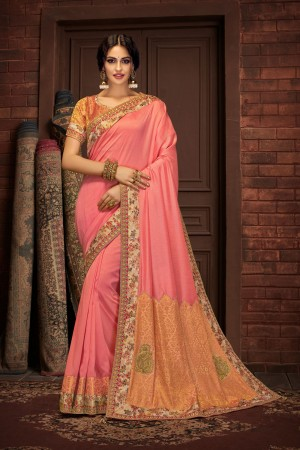 Indian wedding wear saree 13415
