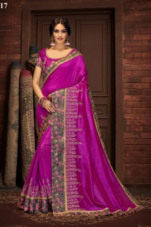 Indian wedding wear saree 13417