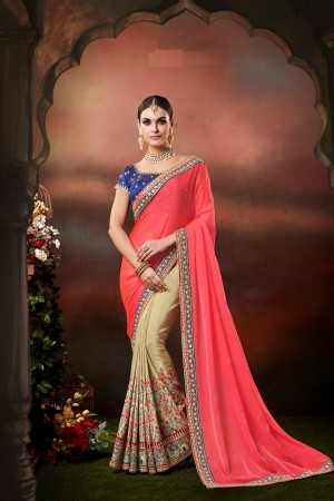 Indian wedding wear saree 4167