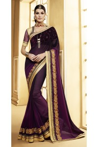Party-wear-purple-color-7-saree