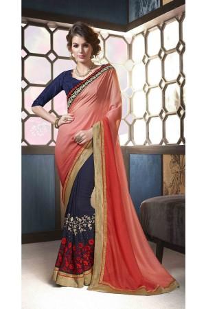 party-wear-blue-pink-color-3-saree