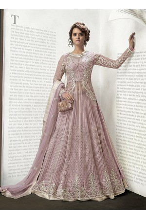 Light pink color party wear 2 in 1 style suit