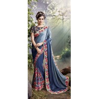 Party-Wear-Silver-Blue-Heavy-Work-Saree