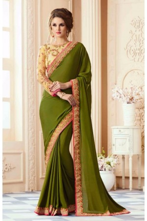 Party-wear-algae-green-designer-sarees-38009