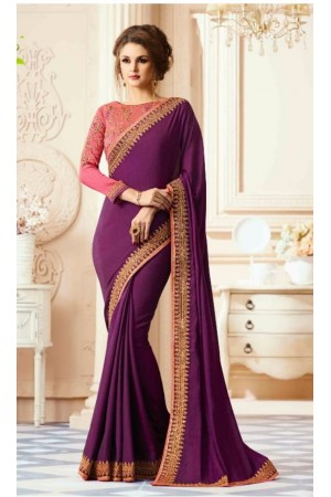 Party-wear-Purple-designer-sarees-30005