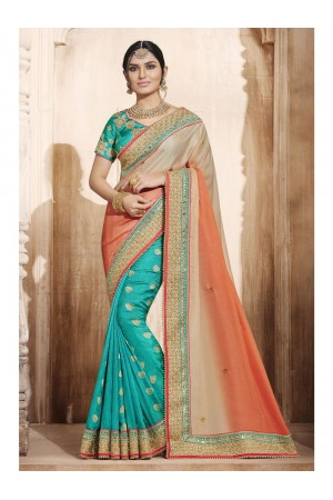 Party Wear Saree 4074