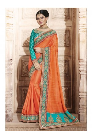 Party Wear Saree 4076