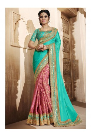 Party Wear Saree 4077