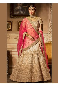 Dashing banglori silk zari work a line lehenga choli 5005
