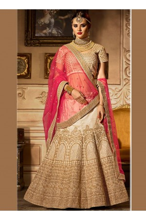 Dashing banglori silk zari work a line lehenga choli 5005