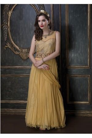 Embroidery-work-net-santoon-mustard-gown