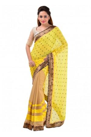 Lotus Inspired Party Wear Saree 700014B