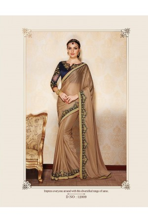 Party-wear-Beige1-color-saree