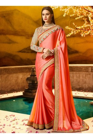 Tantalizing fancy fabric classic party saree 1170