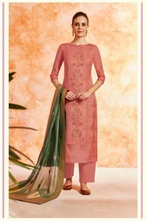 Cherry dola silk Indian Palazzo salwar kameez K18