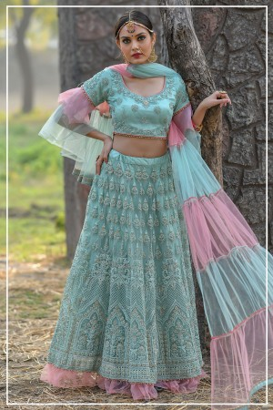 Indian bridal lehenga choli 952