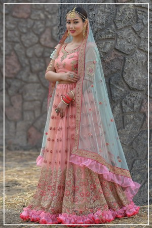 Indian bridal lehenga choli 955