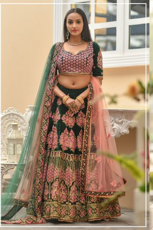 Indian bridal lehenga choli 957
