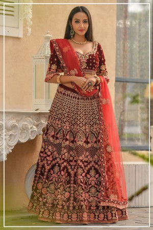 Indian bridal lehenga choli 959