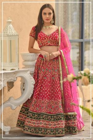 Indian bridal lehenga choli 962