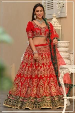 Indian bridal lehenga choli 963