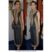 Kareena kapoor black mirror work Bollywood Anarakali