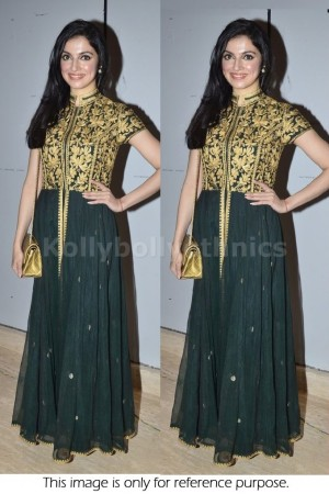 Divya Khosla Black Bollywood Anarakali