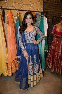 Neha sharma blue Bollywood Suit