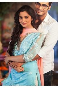 Alia bhatt 2 states movie blue anarkali