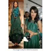 Priyanka chopra green designer outfit