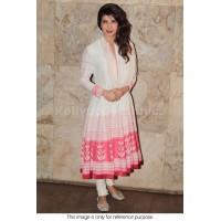 Priyanka Chopra White designer Churidar