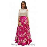 Bollywood Style Shraddha das pink color bangalori silk lehenga choli