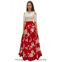 Bollywood Style Shraddha das red color bangalori silk lehenga choli