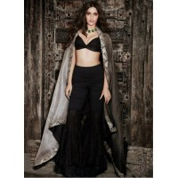 Bollywood  style sonam kapoor sharara style georgette and net lehenga