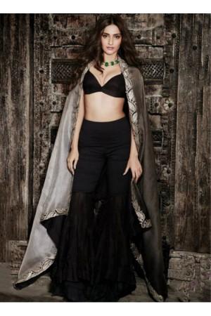 Bollywood  style sonam kapoor sharara style georgette and net lehenga