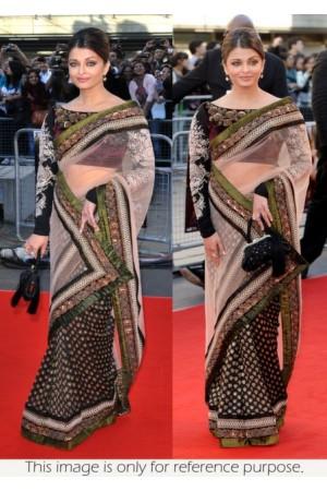 Aishwarya Rai Raavan promo saree