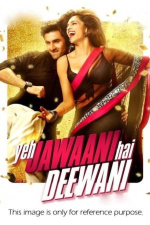 Deepika padukone's Jawaani Dewaani Black saree