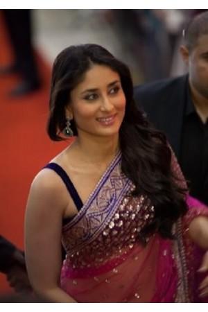 Kareena Kapoor Ra One promo pink saree