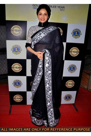 Sridevi Black Saree