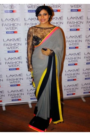 Kajol at Lakme fashion week saree