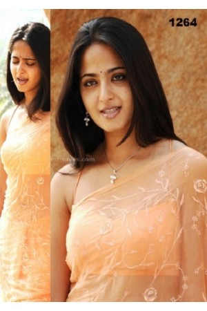 Anushka Shetty saree