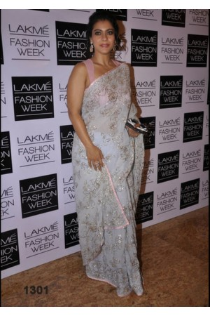 kajol lakme fashion week saree