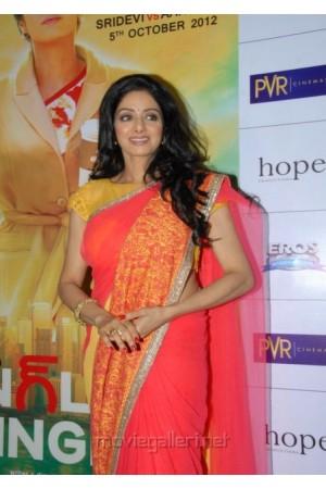 Sridevi English Vinglish Premiere saree