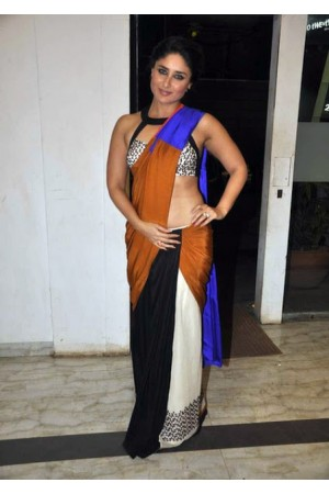 Kareena Kapoor Stylish flim fare saree