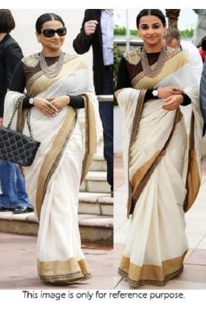 Vidya balan canns award saree