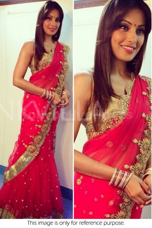 Bipasha Basu red saree