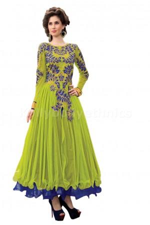Sea green Designer Gown
