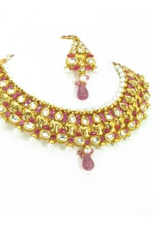 Polki Necklaces 71080