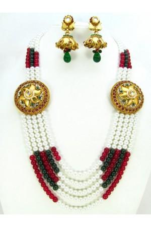 Costume Rajwadi Jewellery Set 57822