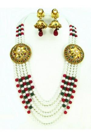 Costume Rajwadi Jewellery Set 57823